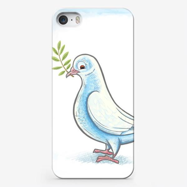 Чехол iPhone «Голубь»