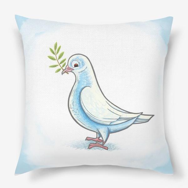 Подушка «Голубь»
