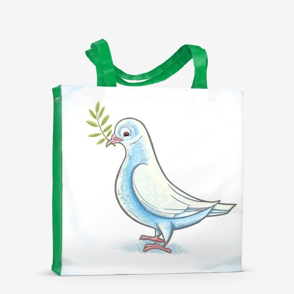Сумка-шоппер «Голубь»