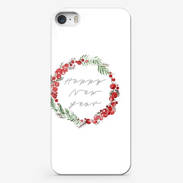 Чехол iPhone «Happy new year»