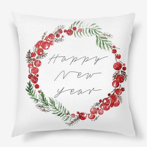 Подушка «Happy new year»