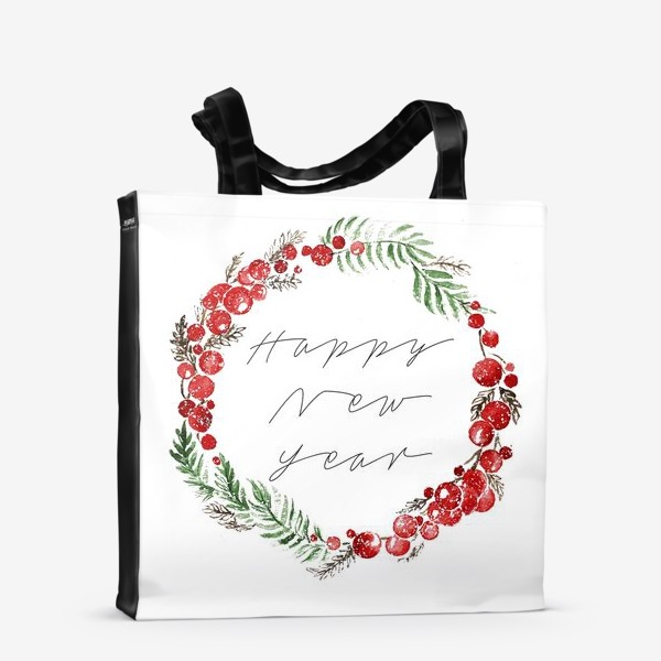 Сумка-шоппер «Happy new year»