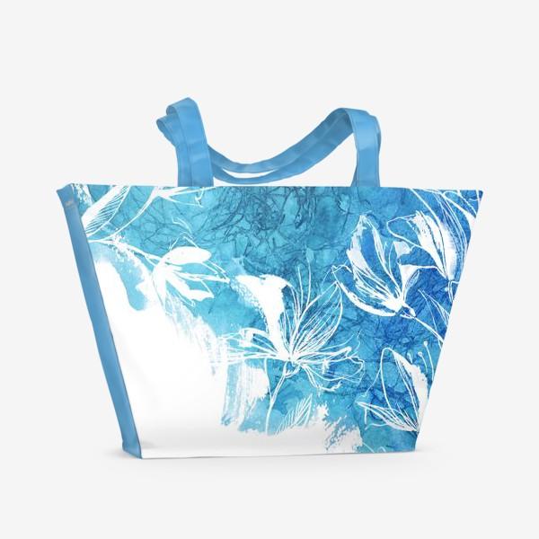 Пляжная сумка «Цветение, Blossom 2»