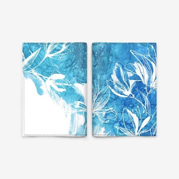 Обложка для паспорта «Цветение, Blossom 2»