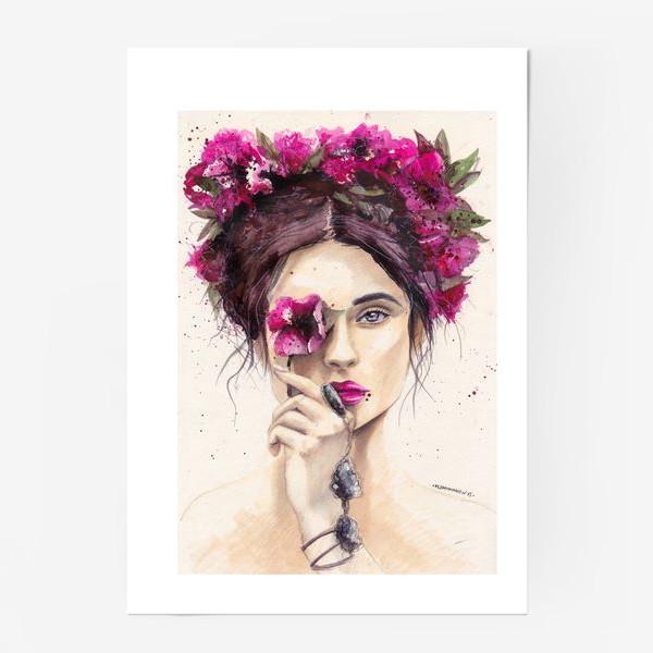 Постер «Flower»