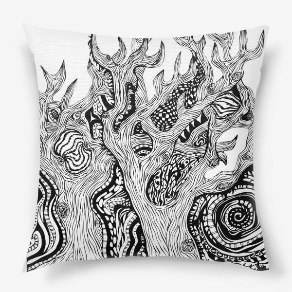 Подушка «Сказочный лес»