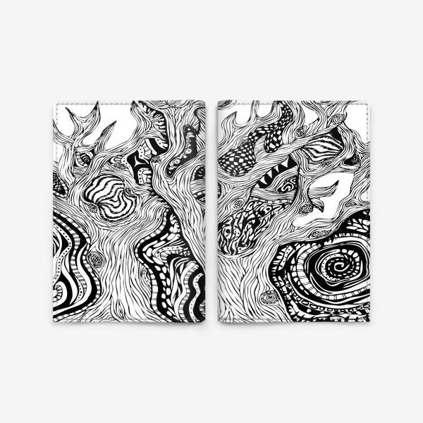 Обложка для паспорта «Сказочный лес»