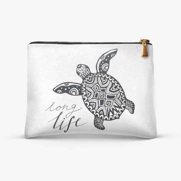 Косметичка «Черепаха. Long life»