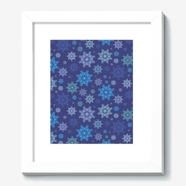Картина «Летящие снежинки ( Flying snowflakes )»