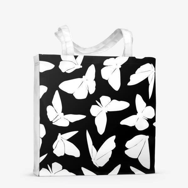 Сумка-шоппер «White Butterflies»