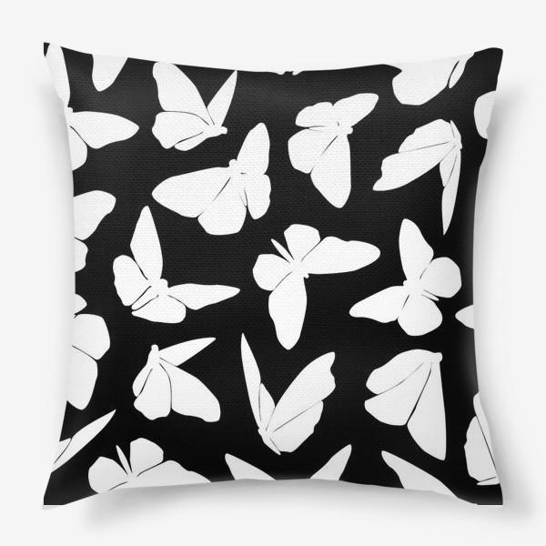 Подушка «White Butterflies»