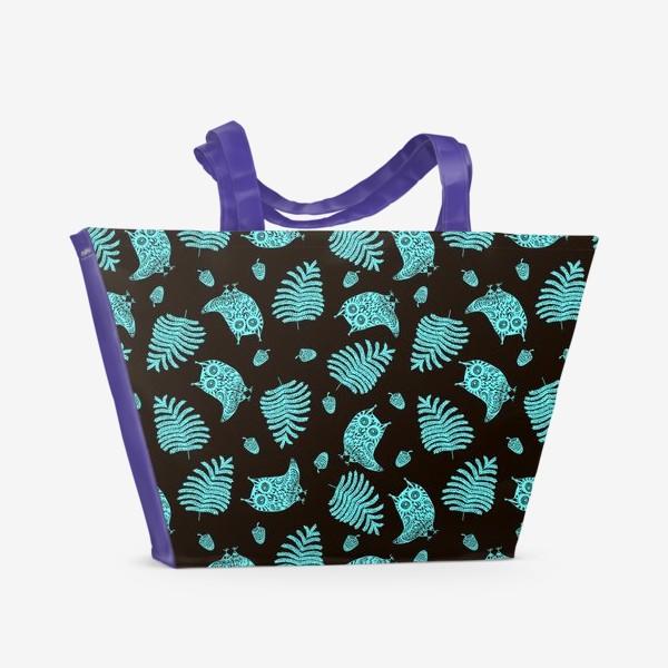 Пляжная сумка «Ночные совы»