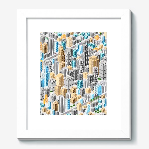 Картина «Мегаполис»