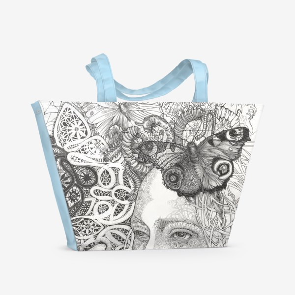 Пляжная сумка «Кружева»