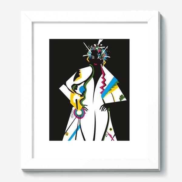 Картина «Абстрактная девушка»