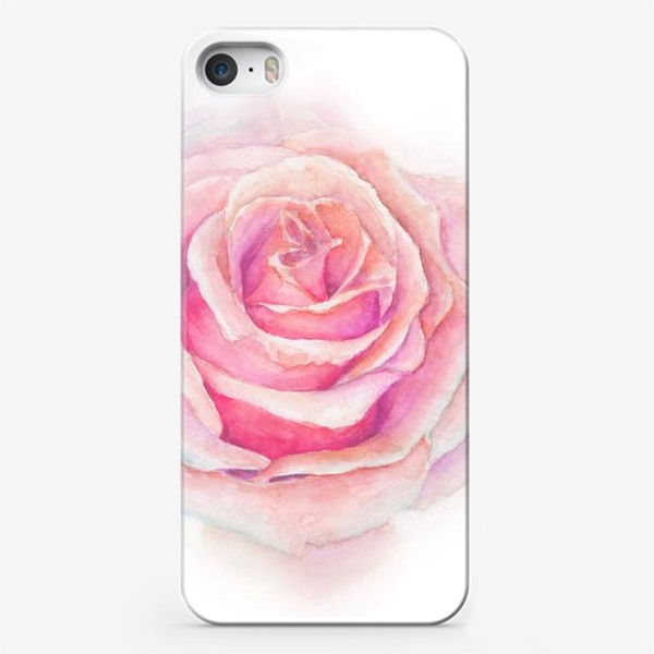Чехол iPhone «Роза нежная, как облако»