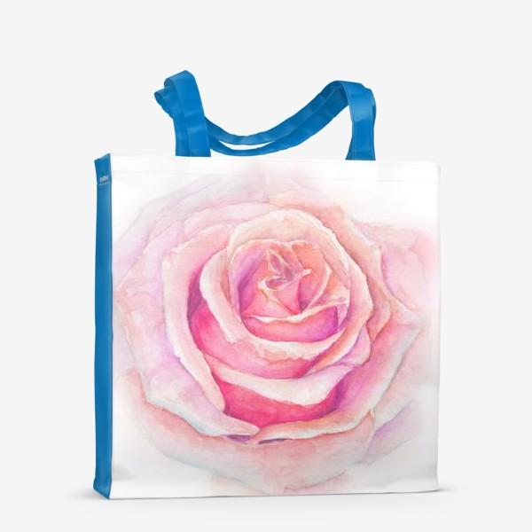Сумка-шоппер «Роза нежная, как облако»