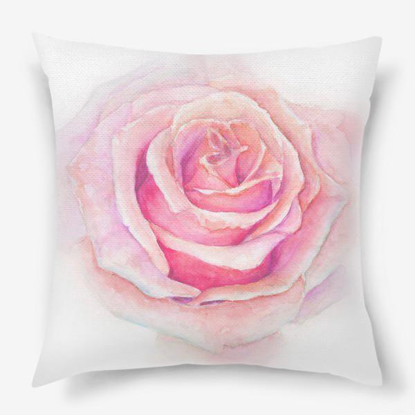 Подушка «Роза нежная, как облако»