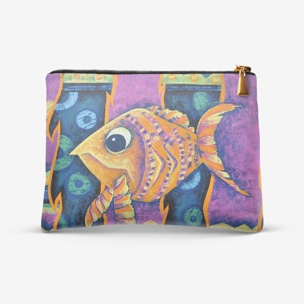 Косметичка «Экзотическая рыбка ( Exotic fish)»