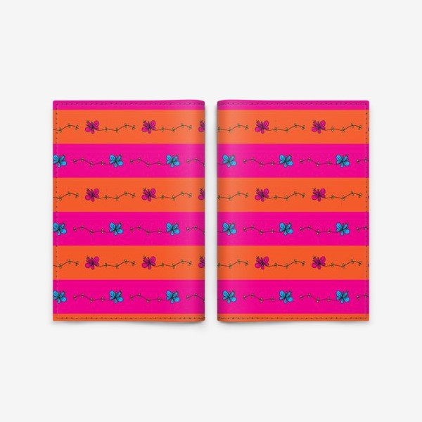 Обложка для паспорта «Узор горизонтальный»