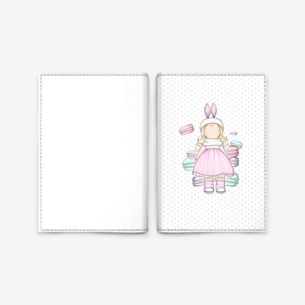 Обложка для паспорта «Sweet Doll »