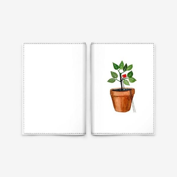 Обложка для паспорта «Дом на дереве»