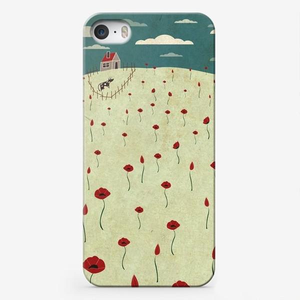Чехол iPhone «Маки поле»