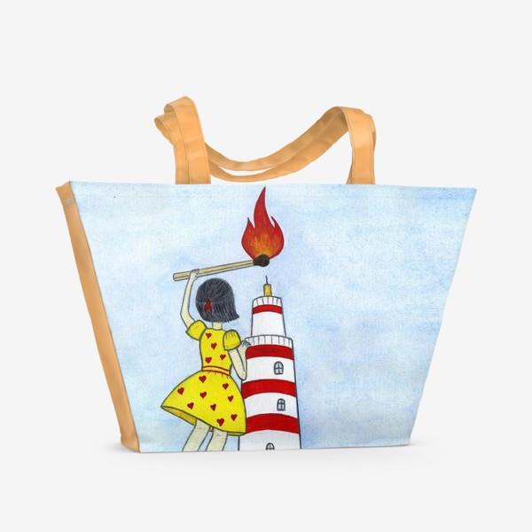 Пляжная сумка «Озари мой путь»