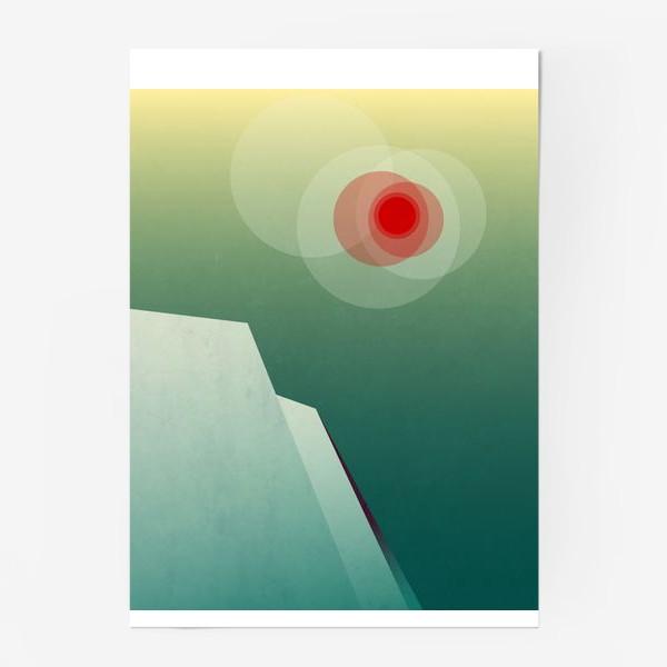 Постер «Морозное утро»