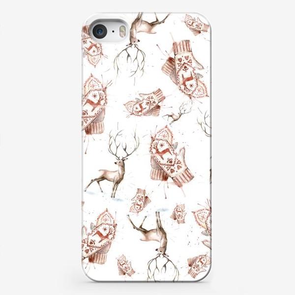 Чехол iPhone «Christmas pattern»