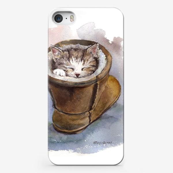 Чехол iPhone «Кот в сапоге»