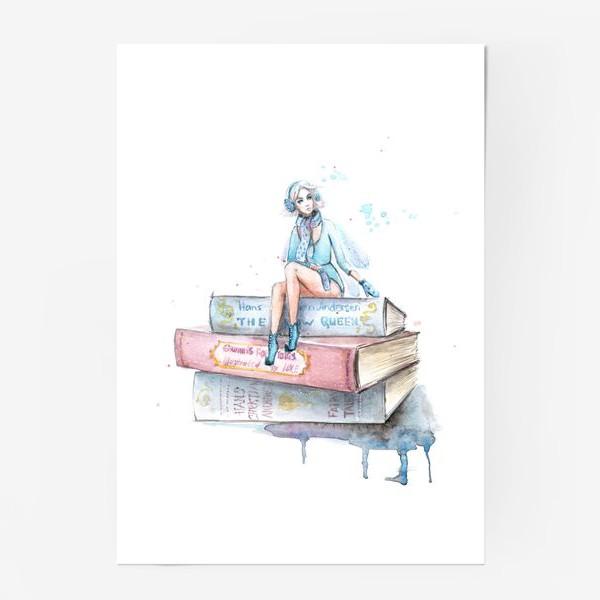 Постер «Снежная фея»