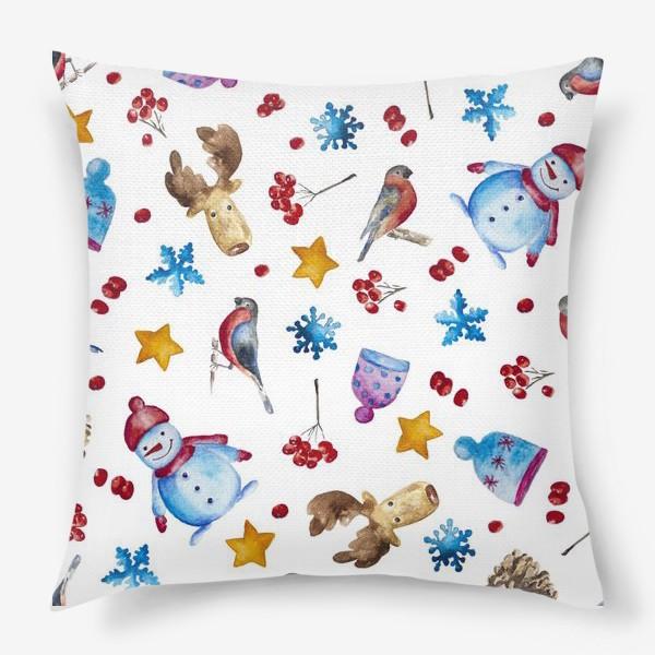 Подушка «Новогодняя радость»