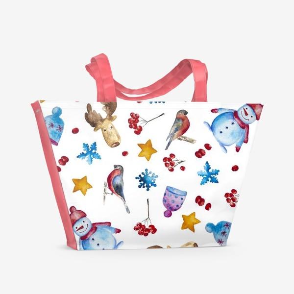 Пляжная сумка «Новогодняя радость»