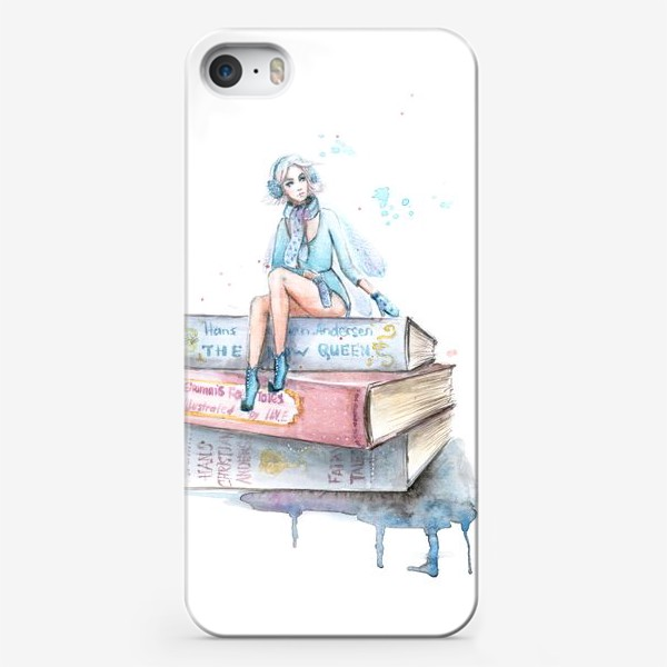 Чехол iPhone «Снежная фея»