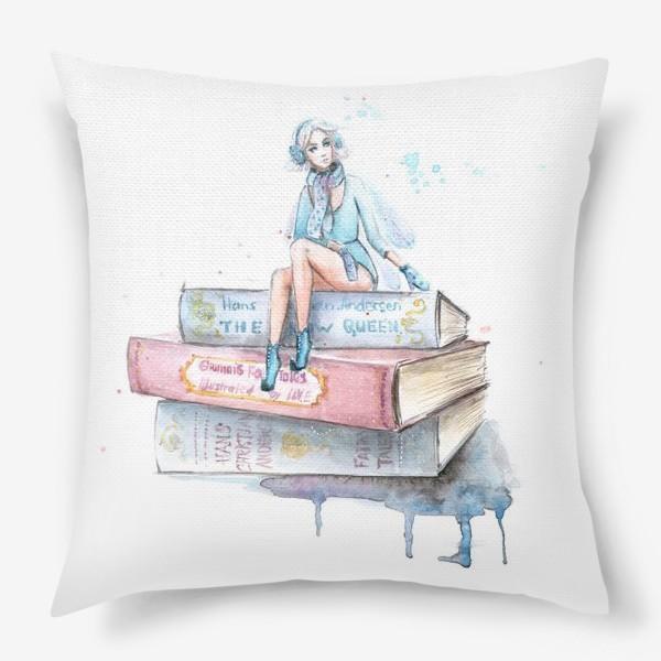 Подушка «Снежная фея»