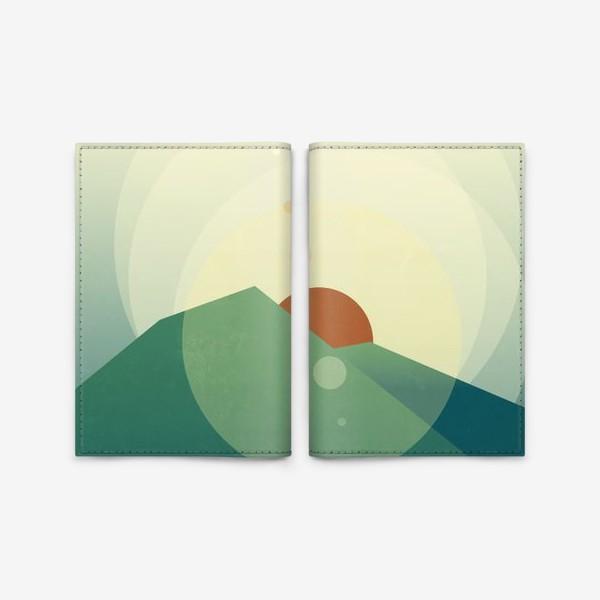 Обложка для паспорта «Луч солнца золотого»