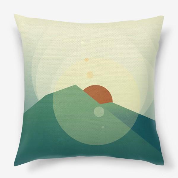 Подушка «Луч солнца золотого»
