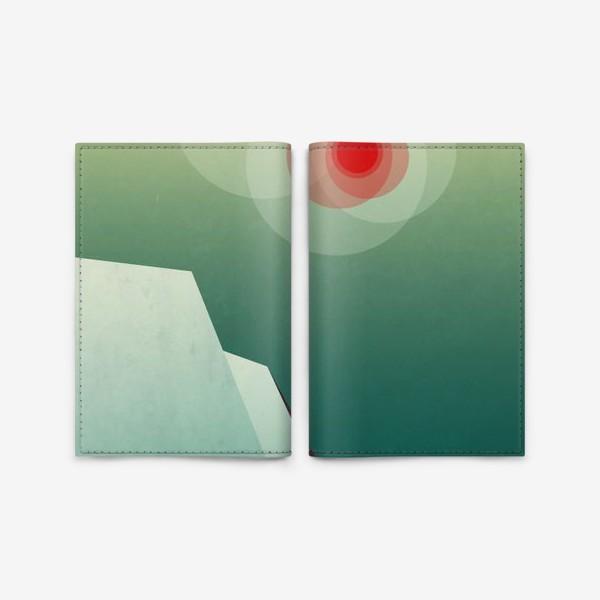 Обложка для паспорта «Морозное утро»