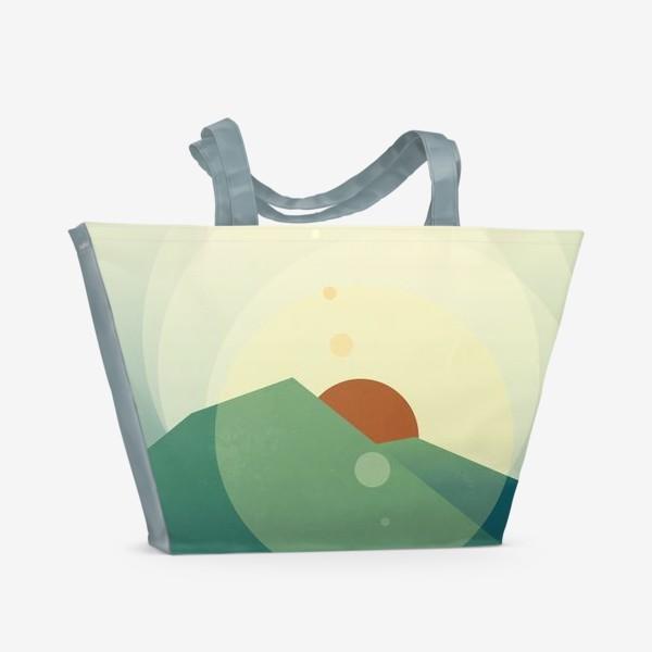 Пляжная сумка «Луч солнца золотого»