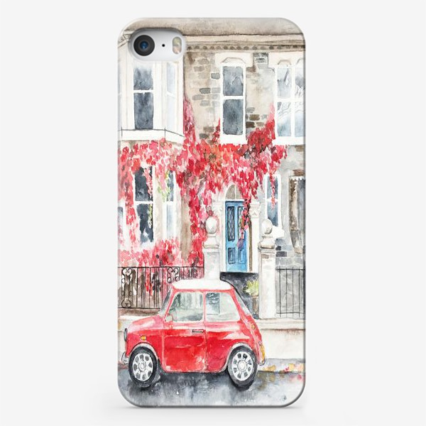 Чехол iPhone «Мини-купер»