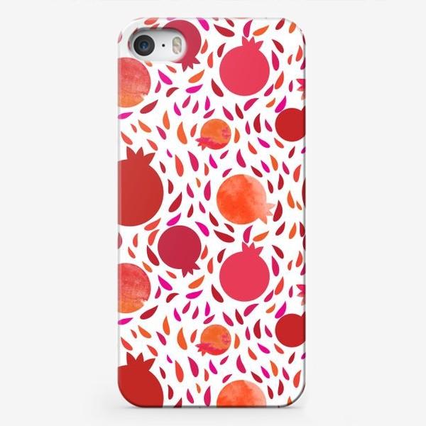 Чехол iPhone «Гранатовый паттерн»