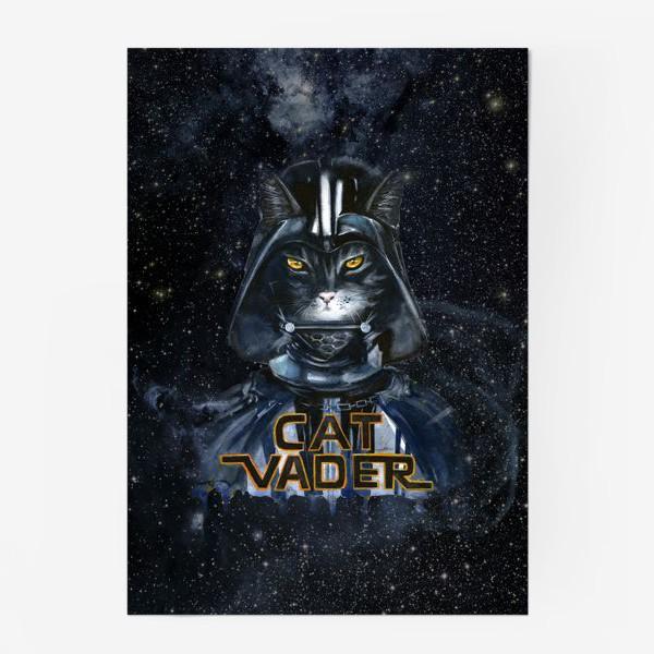 Постер «Кэт Вэйдэр на темной стороне»