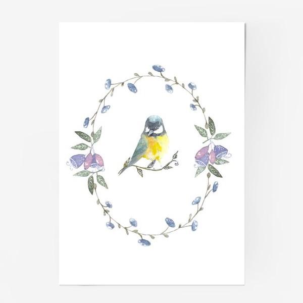 Постер «Птичка »