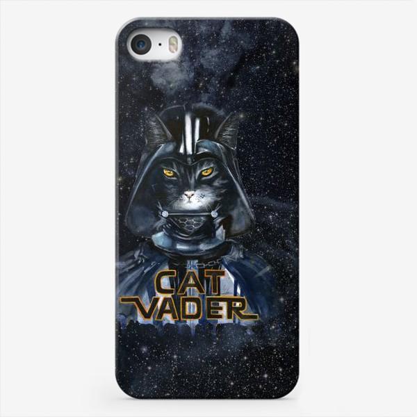 Чехол iPhone «Кэт Вэйдэр на темной стороне»