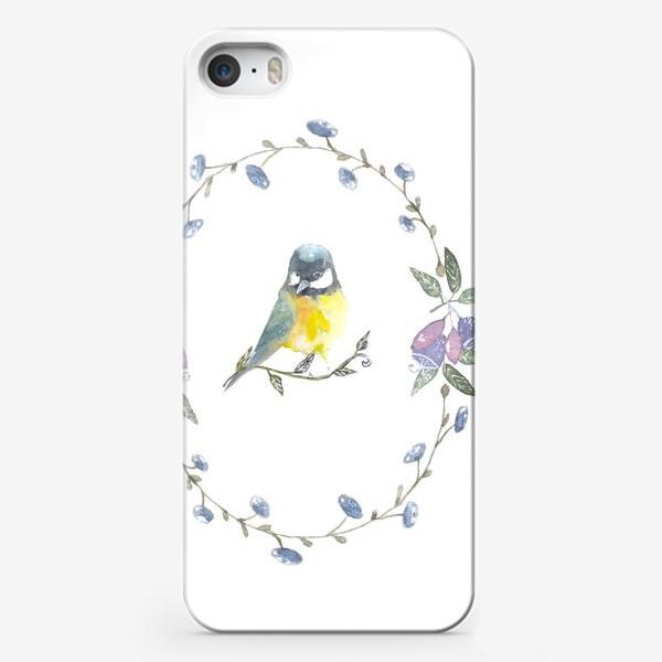 Чехол iPhone «Птичка »