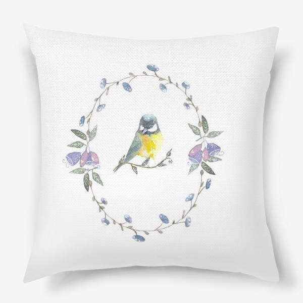 Подушка «Птичка »