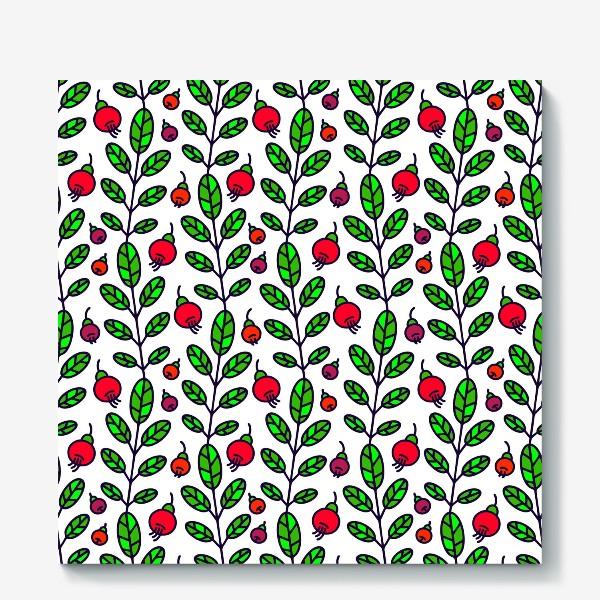 Холст «Красные ягоды»
