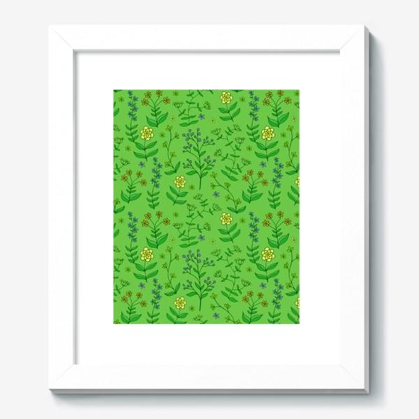 Картина «текстура цветы»