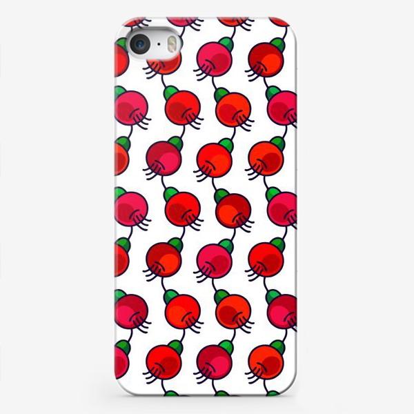 Чехол iPhone «Ягодопад»